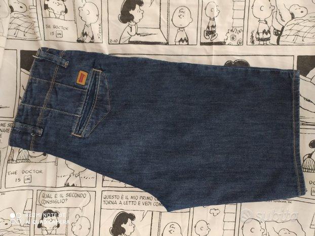 Bermuda uomo carrera jeans