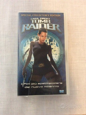 VHS Tomb Raider o Batman & Robin