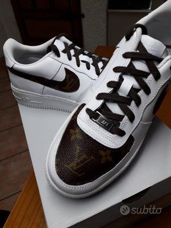 Adidas personalizzate in pelle luis viton