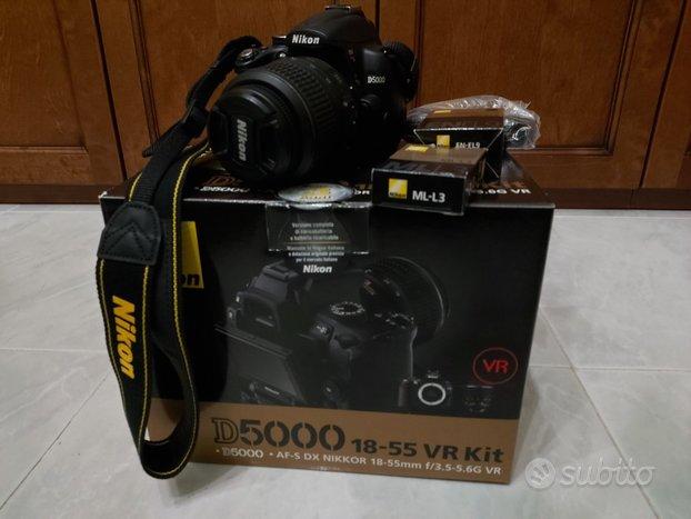 Nikon D5000 + 18-55VR KIT