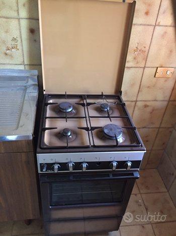 Cucina gas vintage 4 fuochi + forno