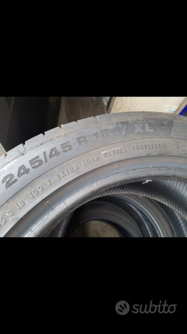 Gomme 245/45/18 continental