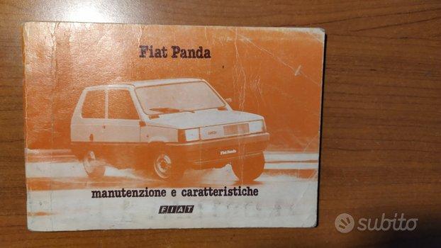 Libretto uso e manutenzione Panda anno 1981