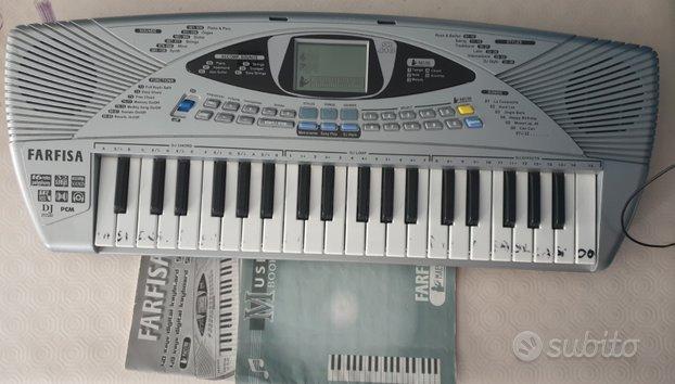 Tastiera musicale farfisa