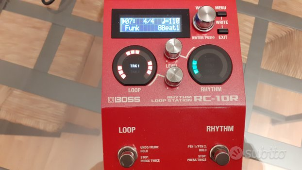 Boss RC-10 R RHYTHM LOOP STATION DRUM MACHINE