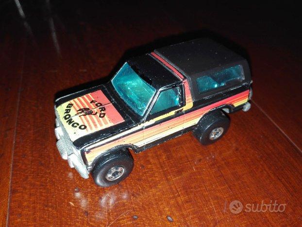 Modellino hot wheels raro ford bronco del 1980