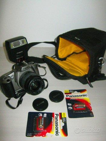 CANON EOS 3000N Reflex flash canon 220 ex completa