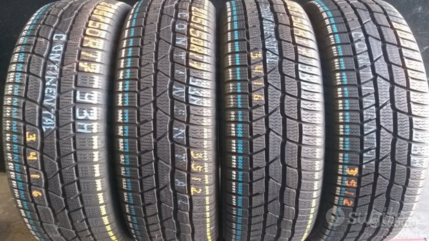 4 gomme 205 50 17 continental invernali