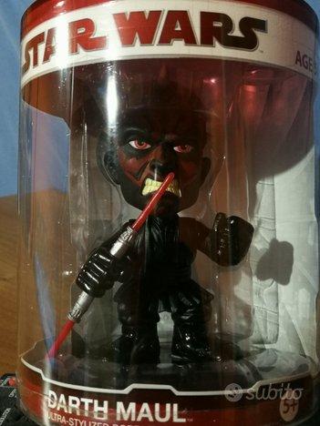Darth Maul Star Wars Funko Booble Head NUOVO