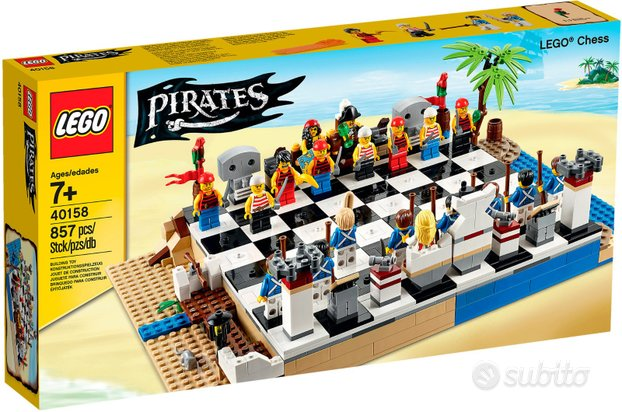 Lego 40158 Scacchi Pirati Chess Pirates