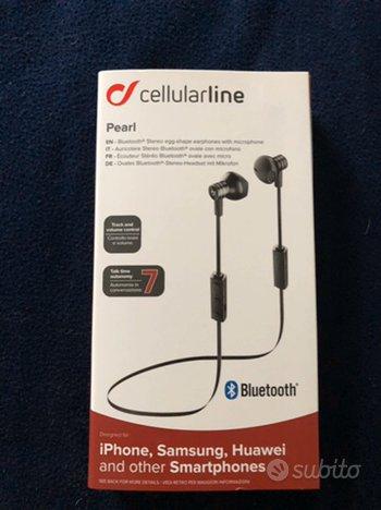 Auricolare stereo Bluetooth ovale con microfono