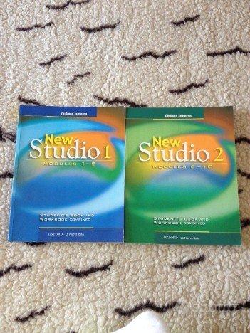 Libri corso inglese New Studio 1 e 2