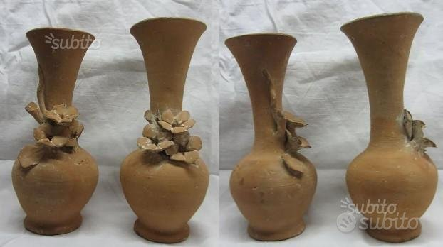 Vasi porta fiori ceramica Caltagirone Bongiovani