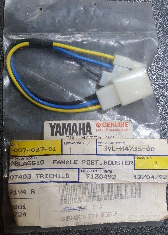 Cavo cablaggio fanale booster yamaha 3vlh47350000