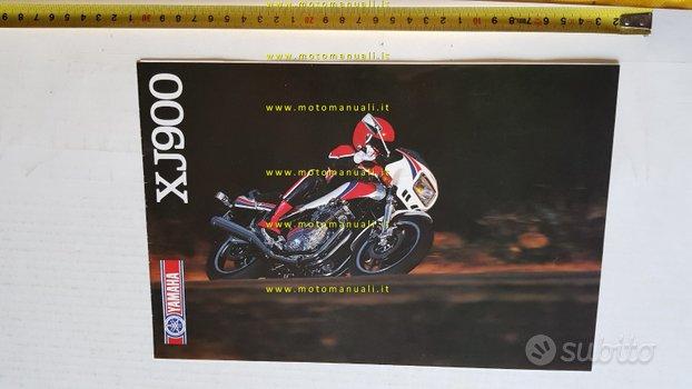 Yamaha XJ 900 1983 depliant moto ITALIANO original