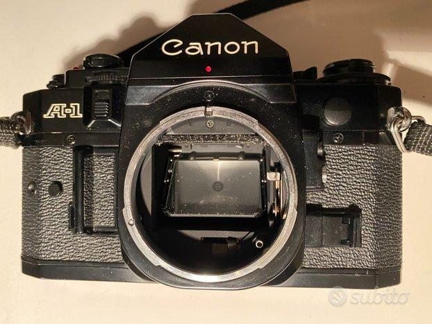 Canon A-1 35mm + obiettivo Canon FD 28mm f2.8