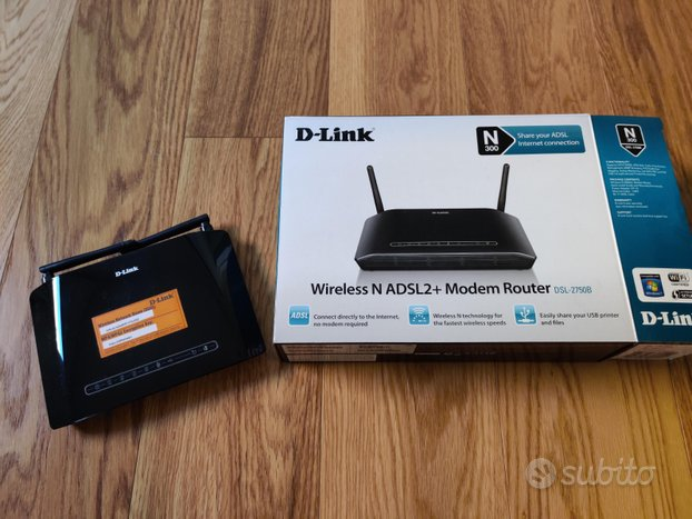 Modem Router ADSL2+ Wireless N DSL-2750B