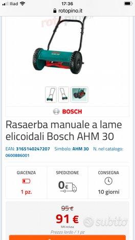 Rasaerba Bosh manuale