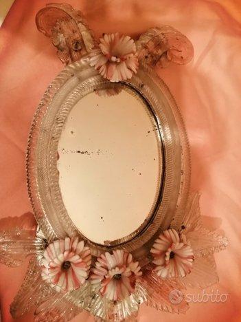 Specchio fine '700-vetro di murano