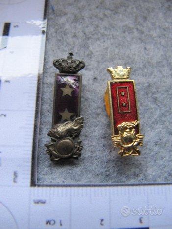 Distintivi da asola Regio Esercito Bersagliere