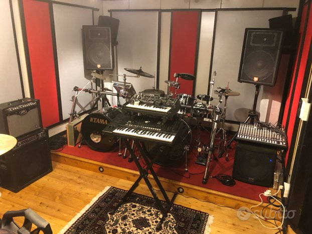 Sala prove studio H24 - Monza Brianza