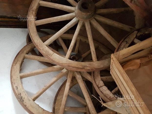 Ruote legno
