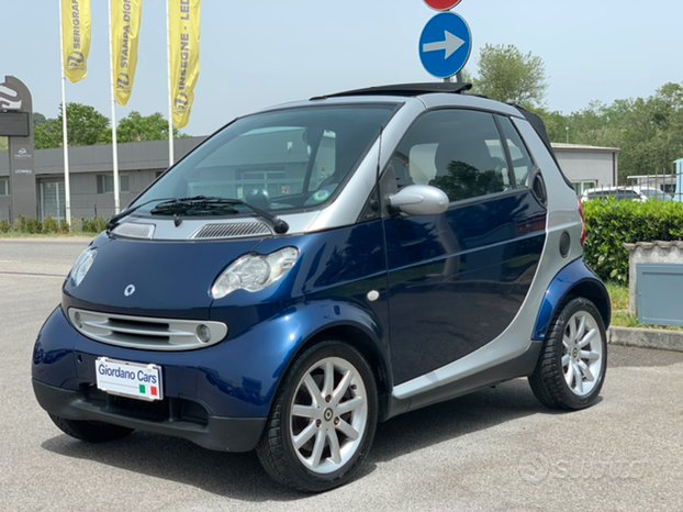 Smart for two 700 cabrio con idroguida (garanzia)