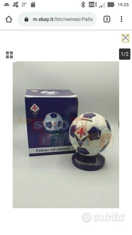 Pallone salvadanaio ufficiale Fiorentina