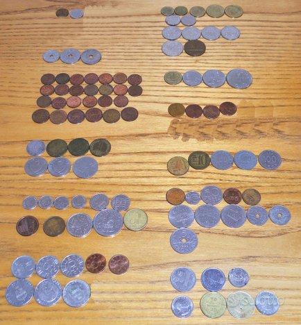 Blocco monete estere