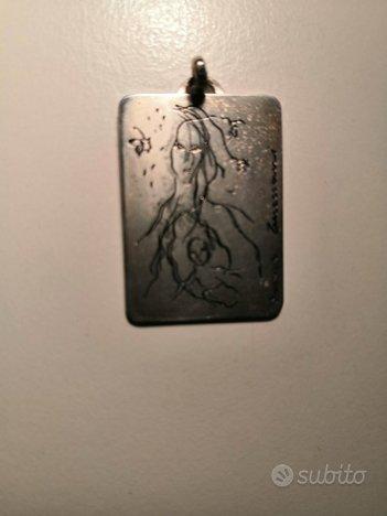 Medaglia in argento di Ernesto Treccani