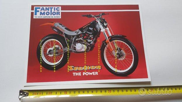 Fantic Motor Trial Section 50 - 80 1995 depliant