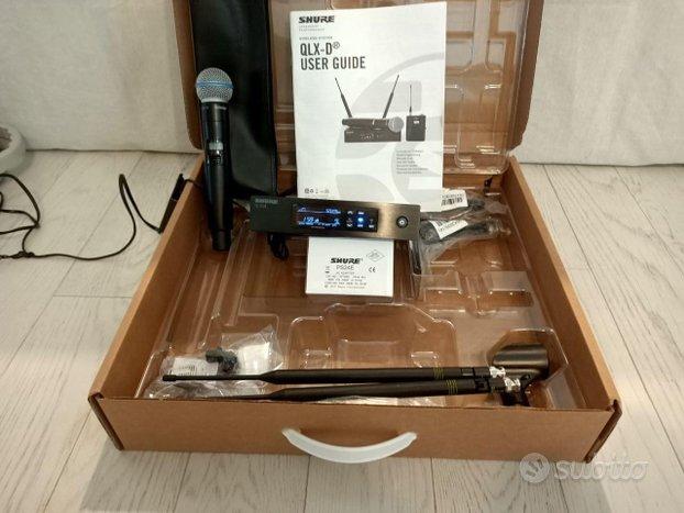 Radio Microfono SHURE QLXD24E / BETA58A G51
