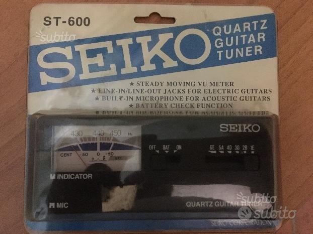 Accordatore Seiko