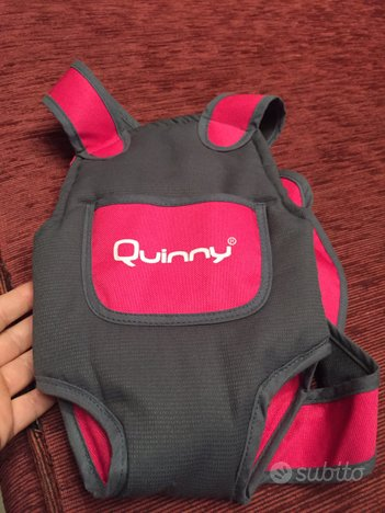 Marsupio per bambole Quinny, pari al nuovo