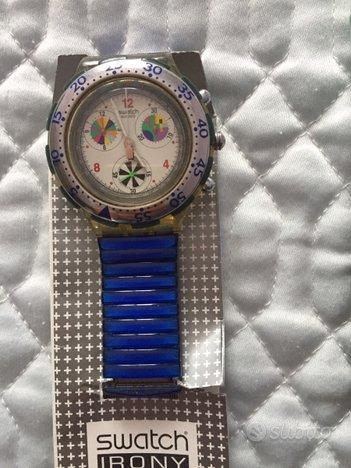 Swatch chrono irony