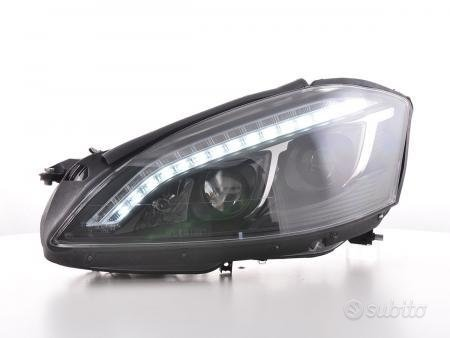 Daylight fari LED DRL look Mercedes-Benz S-class