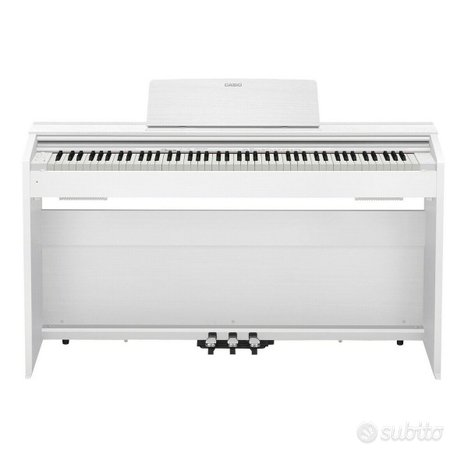 CASIO PX870 White - PIANOFORTE DIGITALE BIANCO