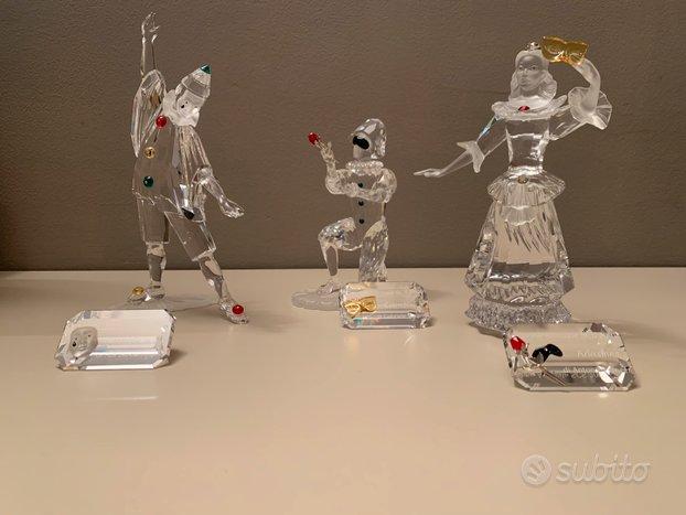 Swarovski Trilogia maschere SCS con targhe