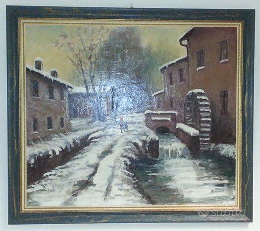 Quadro del pittore bresciano comini