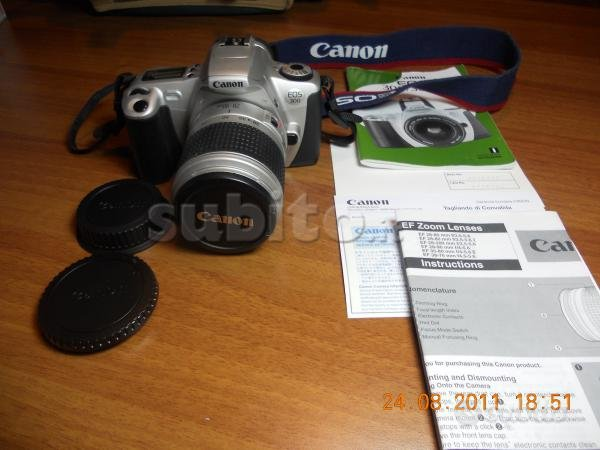 Canon EOS 300, reflex (non digitale)