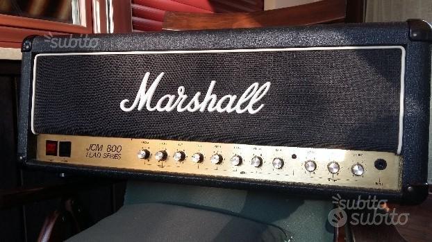 Testata Marshall Jcm 800 2205 50 Watt +cassa 1980