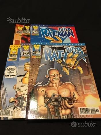 Tutto rat-man 10 - 11 - 13 - 16 - 18 - 20