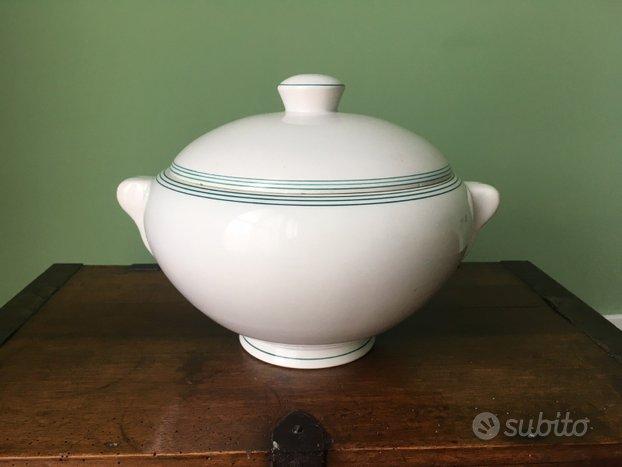 Zuppiera ceramica Galvani vintage