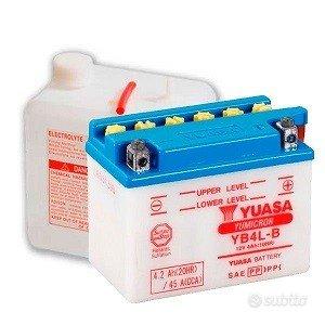 Batteria Yuasa YB4L-B per Moto / scooter