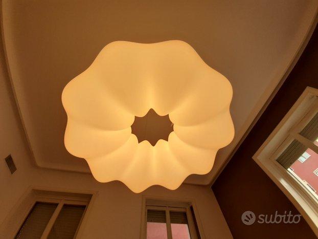 Lampada Artemide a sospensione colore bianco