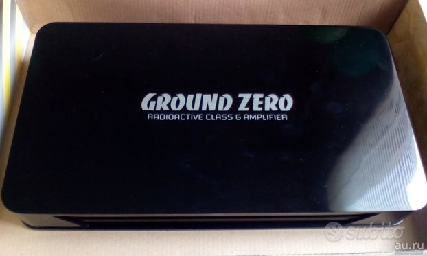 Amplificatore Ground Zero Gzra 2.350G