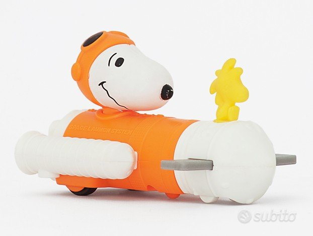Snoopy Take-Off Launcher NASA McDonald's - 2019