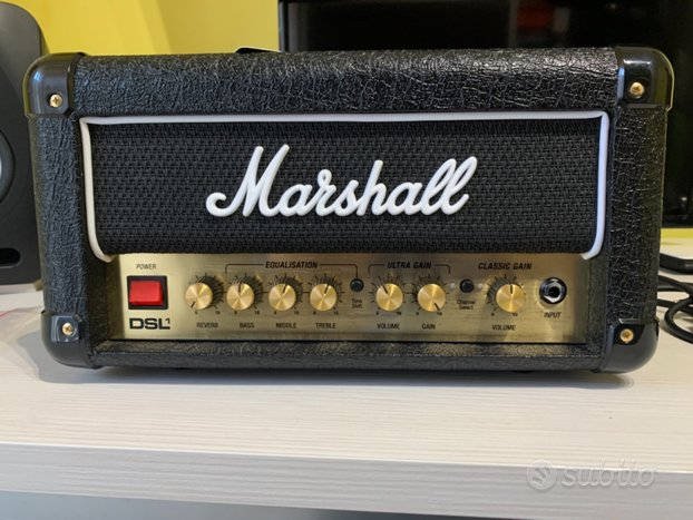 Marshall DSL1HR + FOOTSWITCH