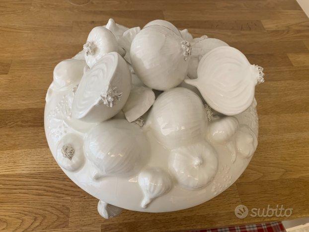 Zuppiera ceramica este cipolle