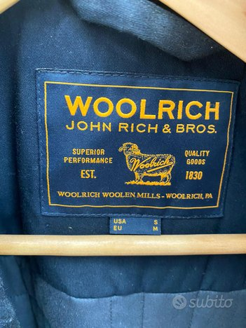 WOOLRICH CAPPOTTO Montgomery